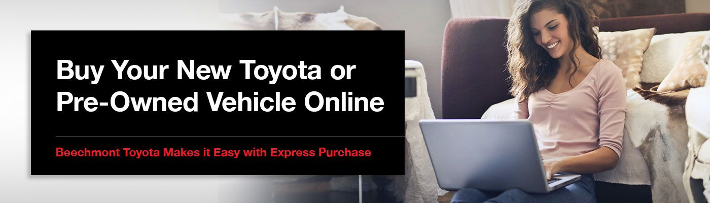 Online Car Buying Process at Beechmont Toyota