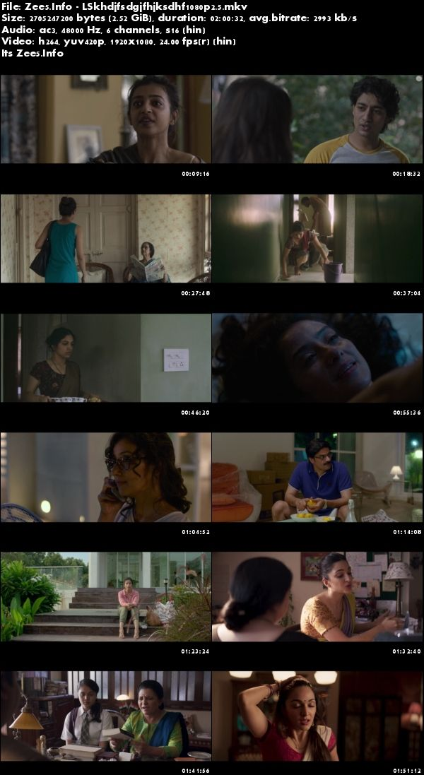 Lust Stories 2018 Hindi 1080p HDRip 2.5GB