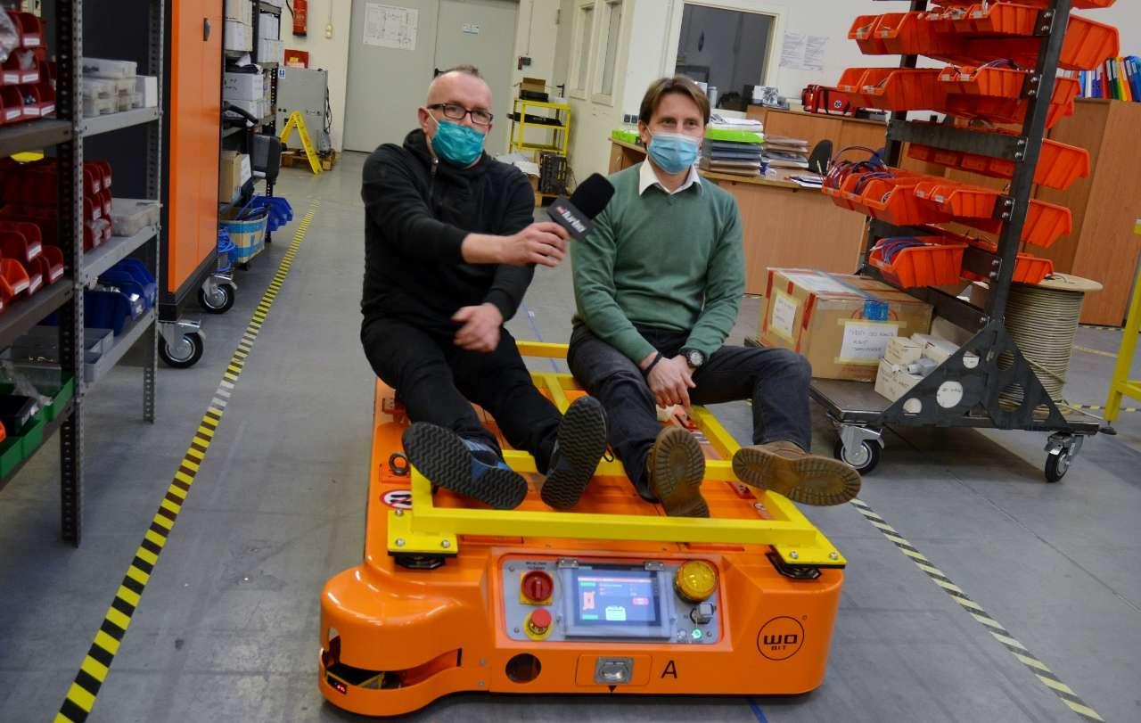 Roboty mobilne MOBOT® wTVN Turbo