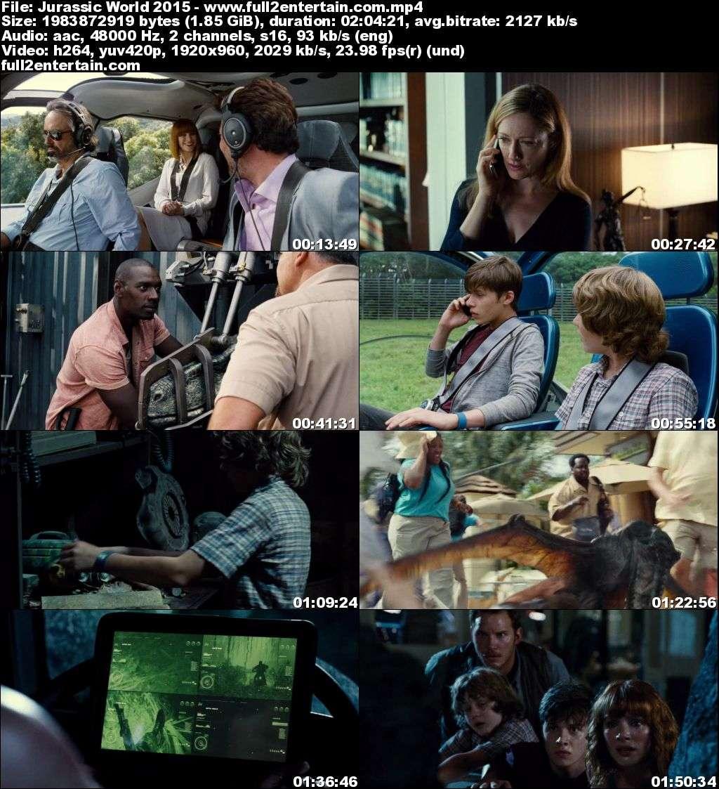Jurassic World 2015 Full Movie Free Download