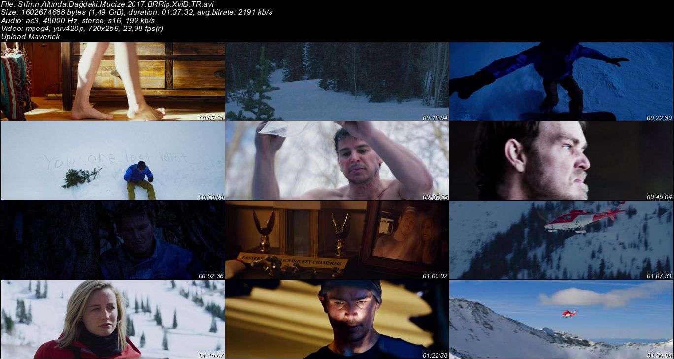 Sıfırın Altında: Dağdaki Mucize - 2017 Türkçe Dublaj BRRip indir