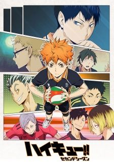Haikyuu!! Second Season's Cover Image