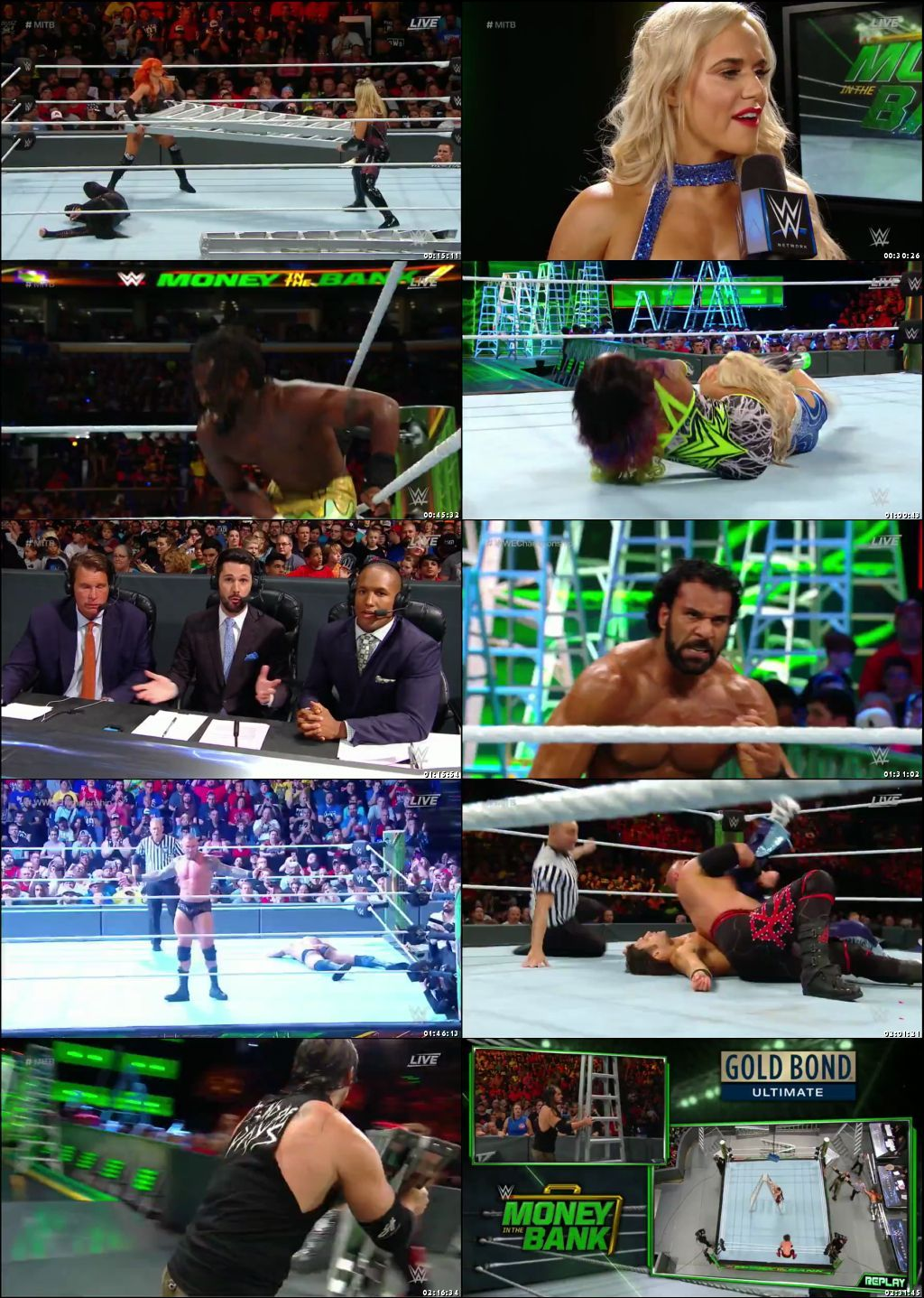 WWE Money In The Bank (2017) PPV HDTV