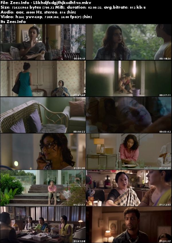 Lust Stories 2018 Hindi HDRip 700MB