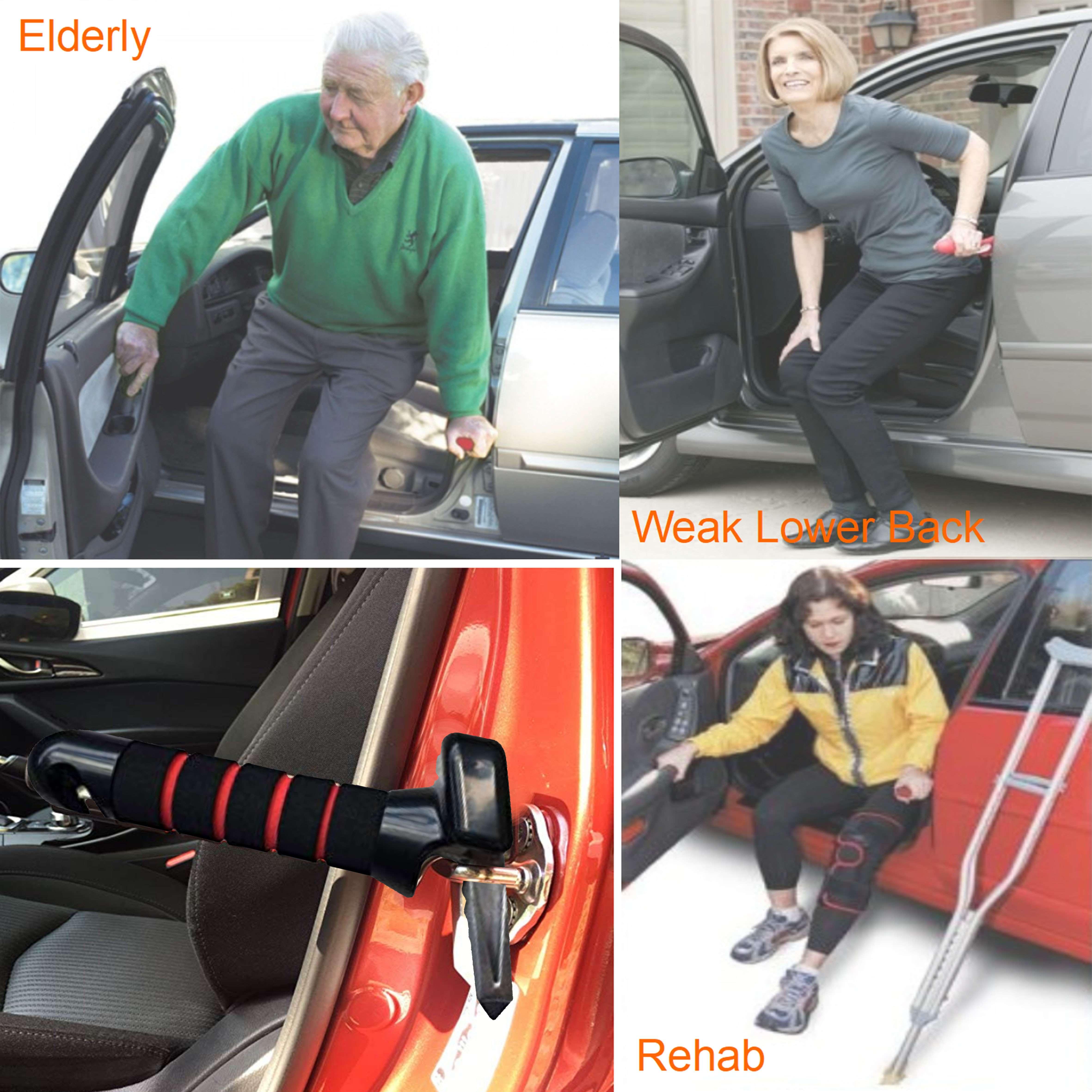 Aluminium Type R Car Steering Wheel Driving Disability Aid Universal Fit Handle