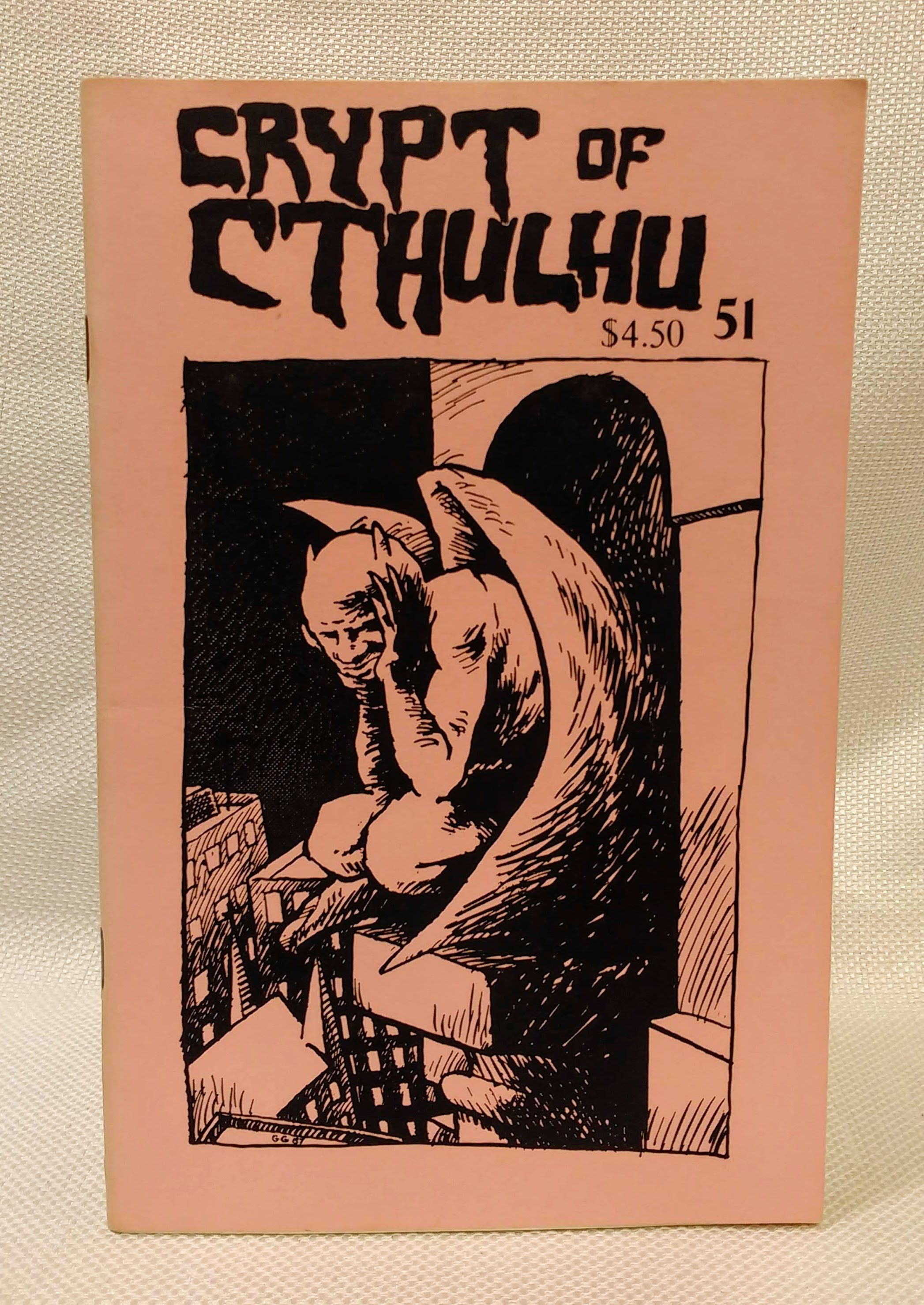 Crypt of Cthulu; A Pulp Thriller and Theological Journal: #51 (Hallowmas 1987), Price, Robert M. [Editor]
