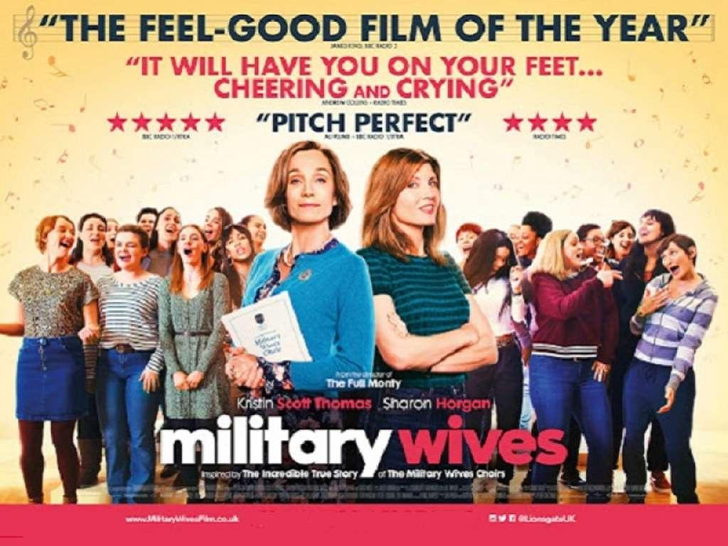 Γυναικεία Υπόθεση (Military Wives) Quad Poster