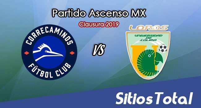 Ver Correcaminos vs Loros de la Universidad de Colima en Vivo – Ascenso MX en su Torneo de Apertura 2019