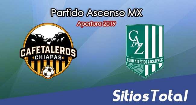 Ver Cafetaleros de Chiapas vs Atlético Zacatepec en Vivo – Ascenso MX en su Torneo de Apertura 2019