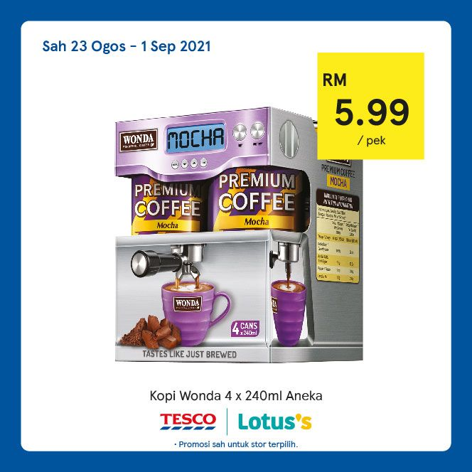 Tesco Catalogue(23 August)