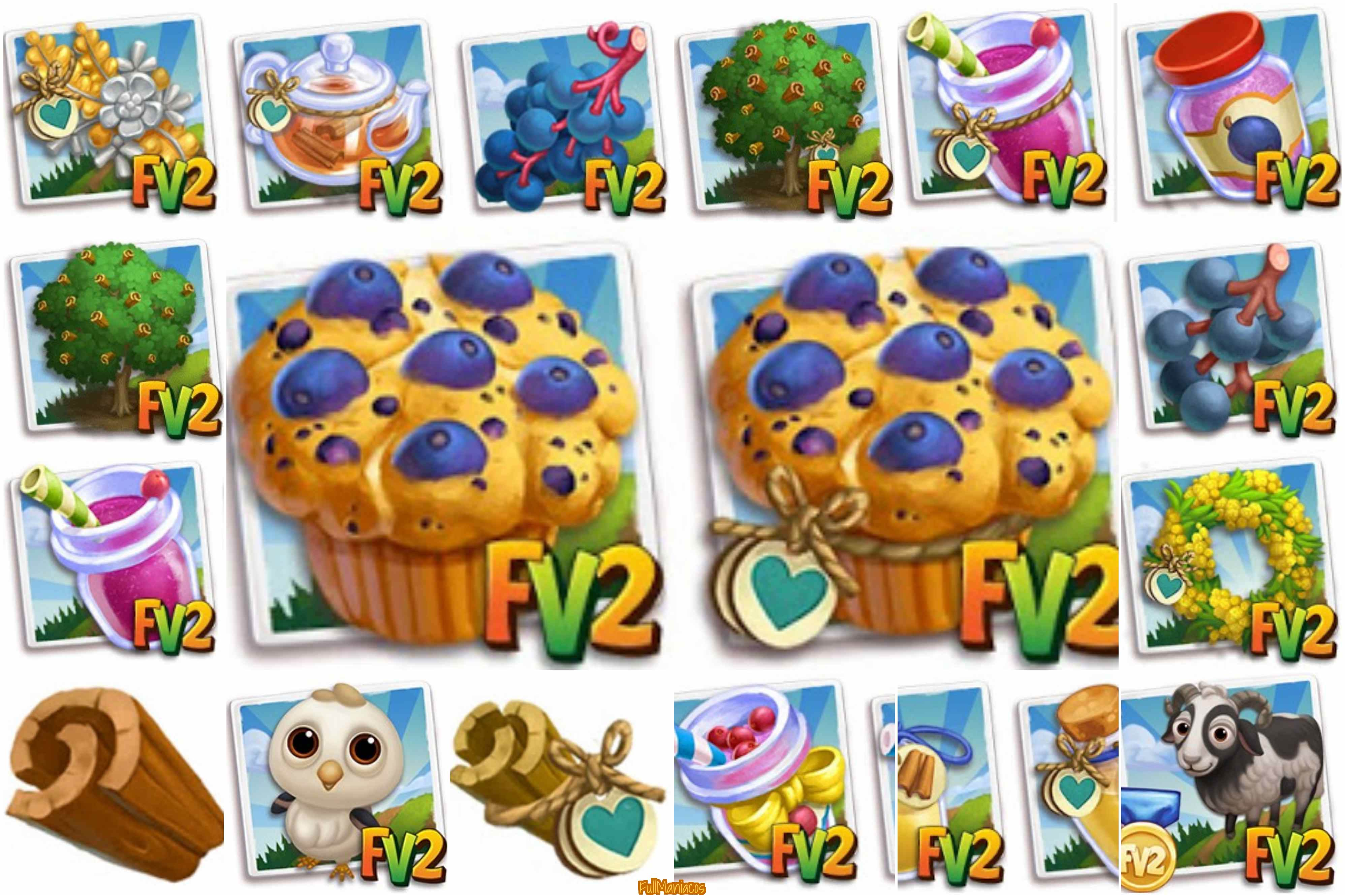 Farmville 2 Nuevos items de Edicion Limitada en Shop 21/08/2017