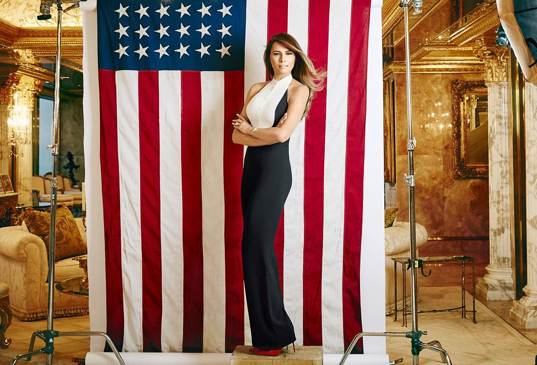Top American designers on dressing Melania Trump