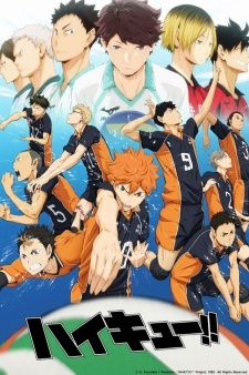 Haikyuu!!'s Cover Image