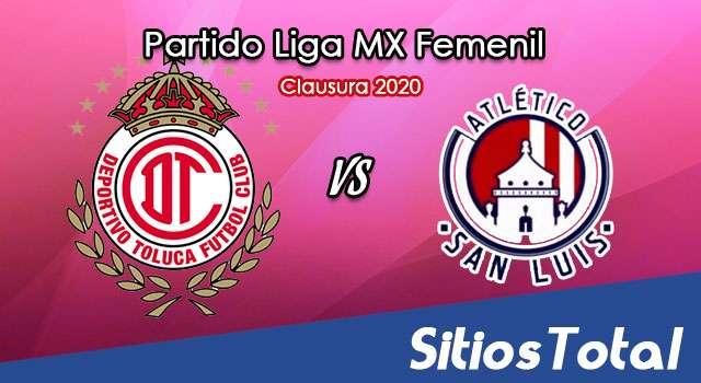 Ver Toluca vs Atlético San Luis en Vivo – Liga MX Femenil – Guardianes – Lunes 5 de Octubre del 2020