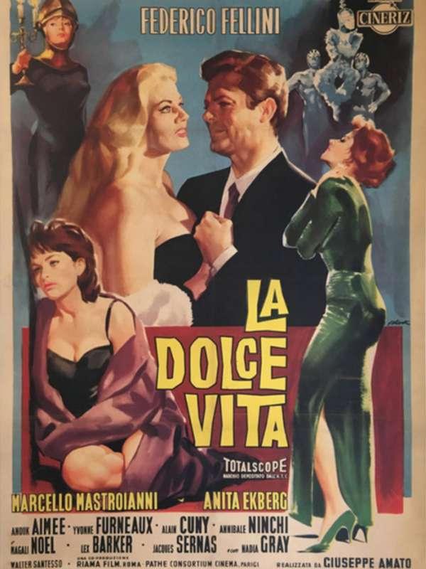 La dolce vita Γλυκειά Ζωή Poster