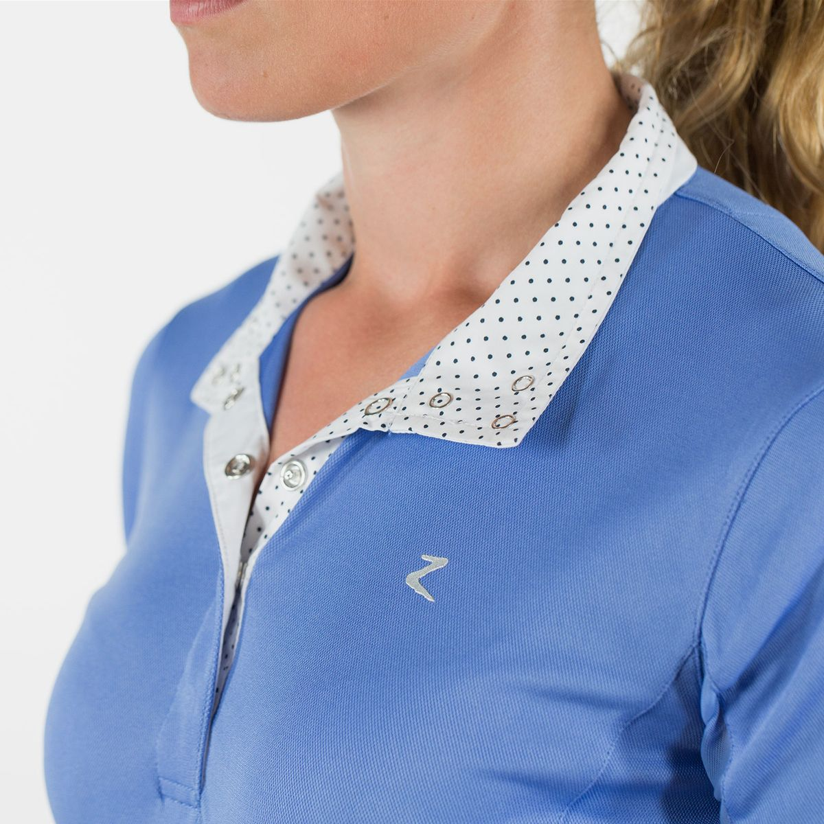 Horze-Blaire-Women-039-s-Short-Sleeve-Functional-Show-Shirt-with-UV-Protection thumbnail 32