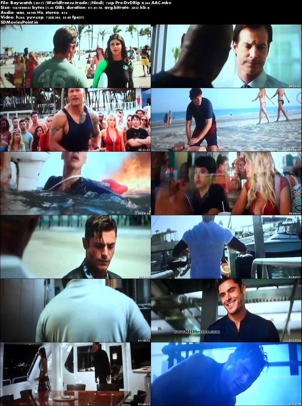 Screen Shot Baywatch 2017 Full Movie Download Hindi Dual Audio