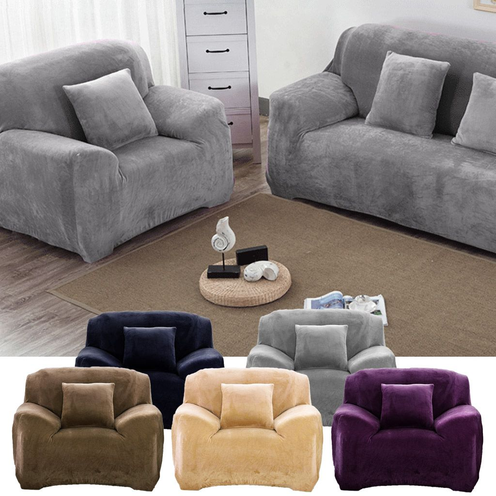 Details about  /Universal Sofa Bed Cover Settee Stretch Couch Slipcover Protector 1//2//3//4 Seater