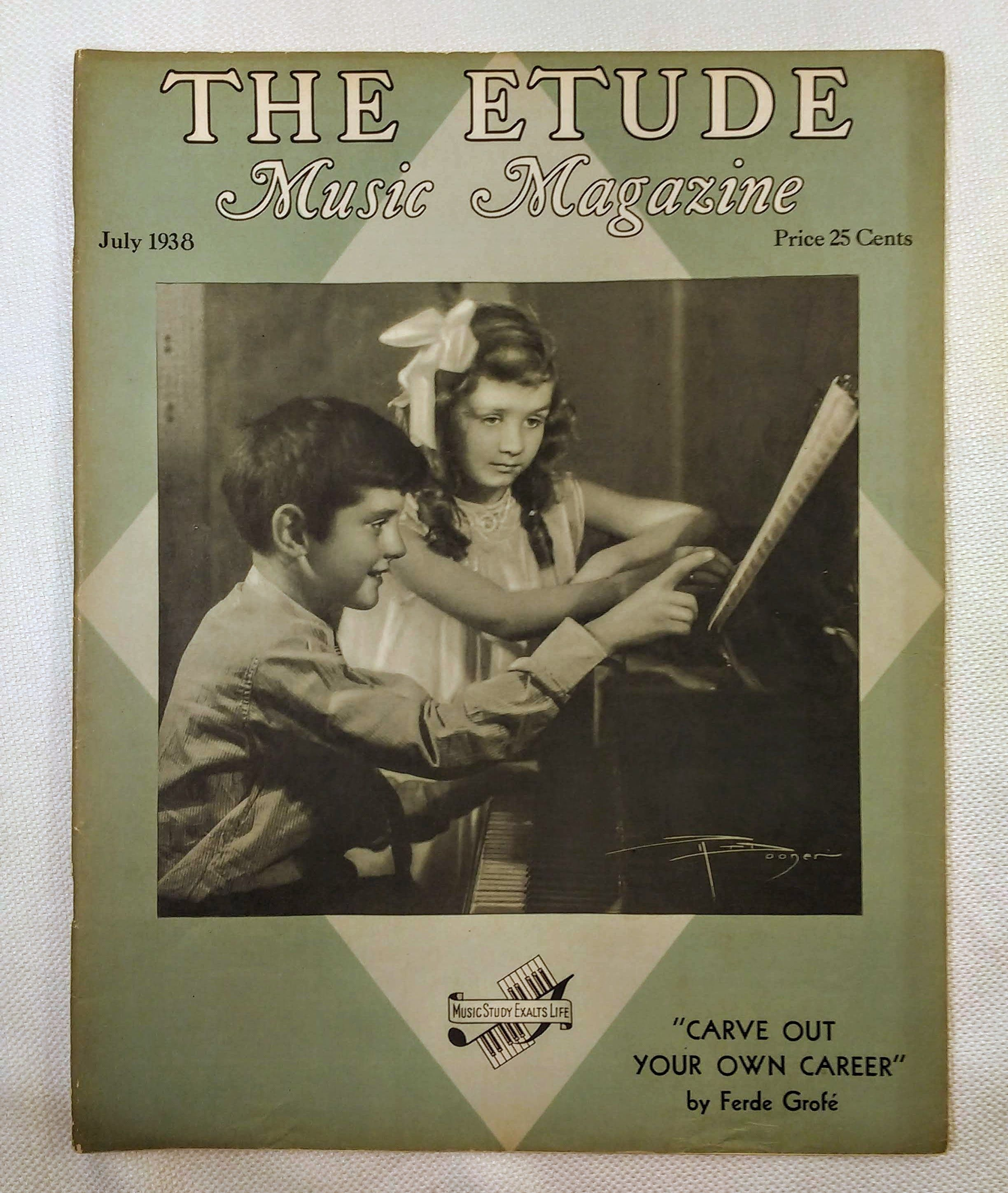 Image for The Etude Music Magazine: Volume LVI, No. 7; July, 1938