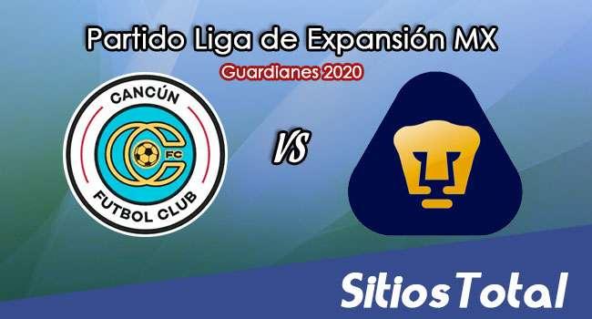 Cancún FC vs Pumas Tabasco en Vivo – Liga de Expansión MX – Guardianes 2020 – Sábado 17 de Octubre del 2020