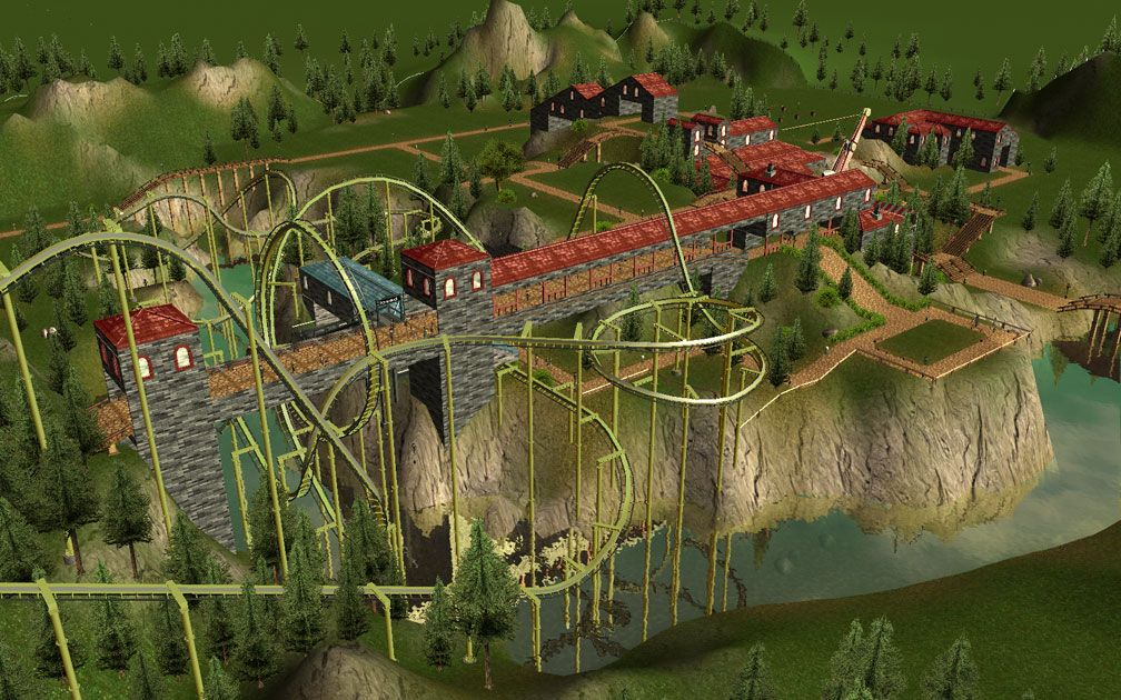 Image 04 - My Downloads - Scenario: RCT3 Demo ParkSave