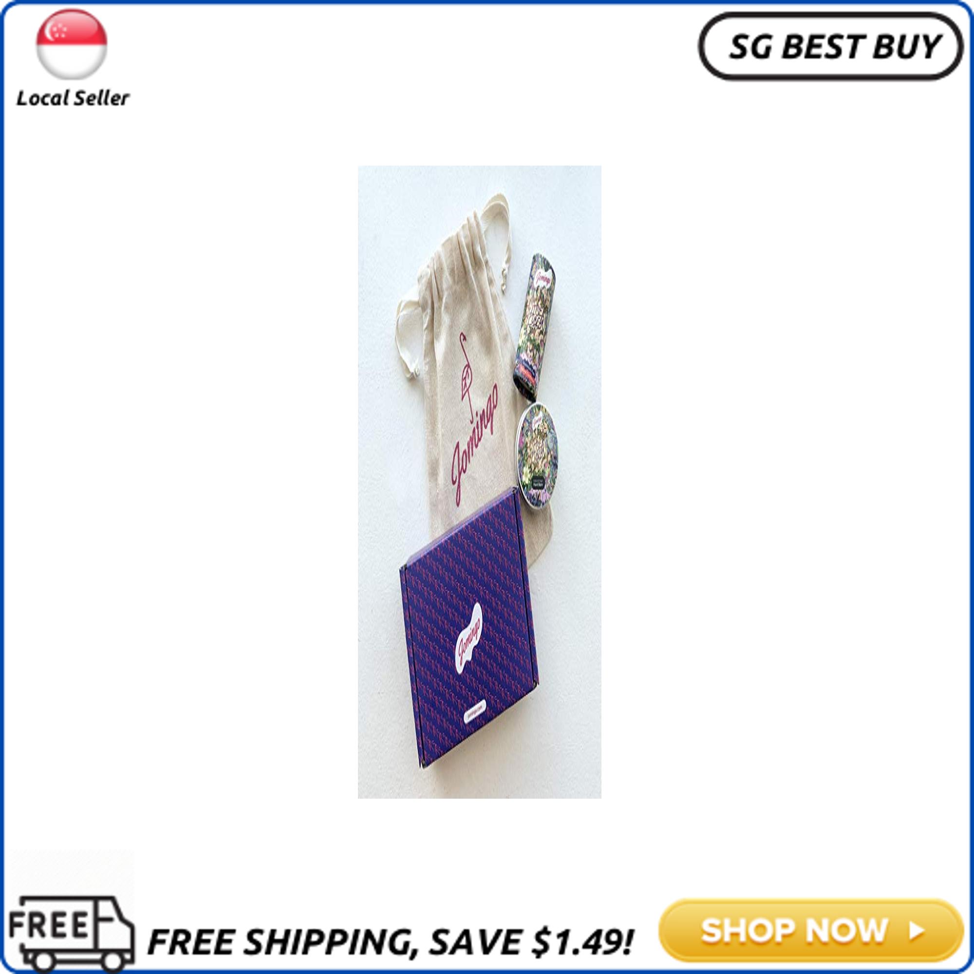 Buy [SG SELLER]Jomingo Value Gift Set Hand Balm & Natural Deodorant - Plant Based, Vegan - Eco Friendly Packaging - Effective and Long Lasting For Adolescents, Women & Men  Litsea Cubeba Singapore