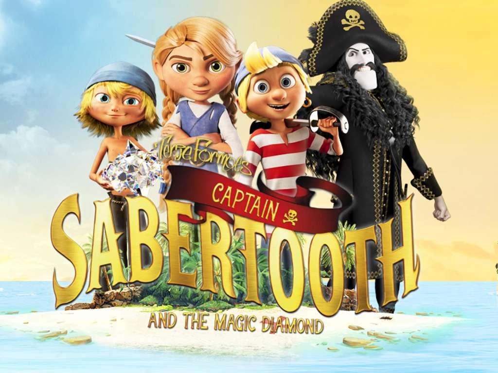 Ο Πειρατής Μαυροδόντης Και Το Μαγικό Διαμάντι (Captain Sabertooth and The Magic Diamond) Movie