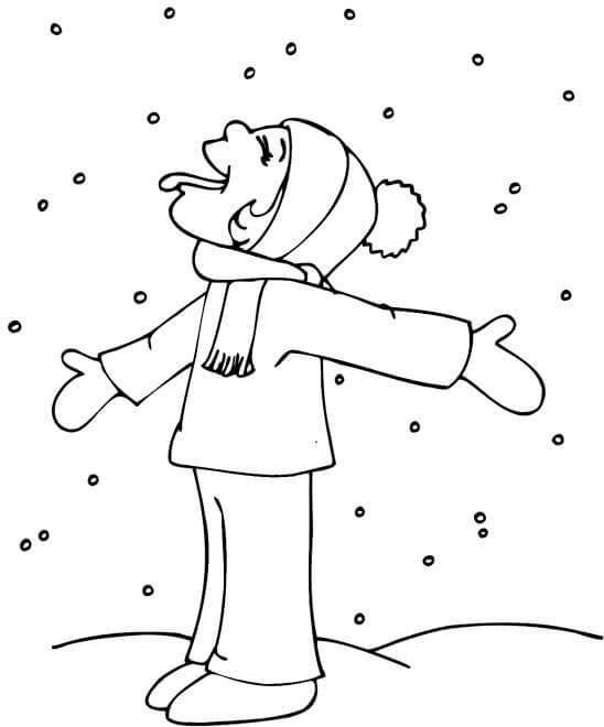 Kar Ve Kis Mevsimi Temali Boyama Sayfalari Forum Aski Turkiye