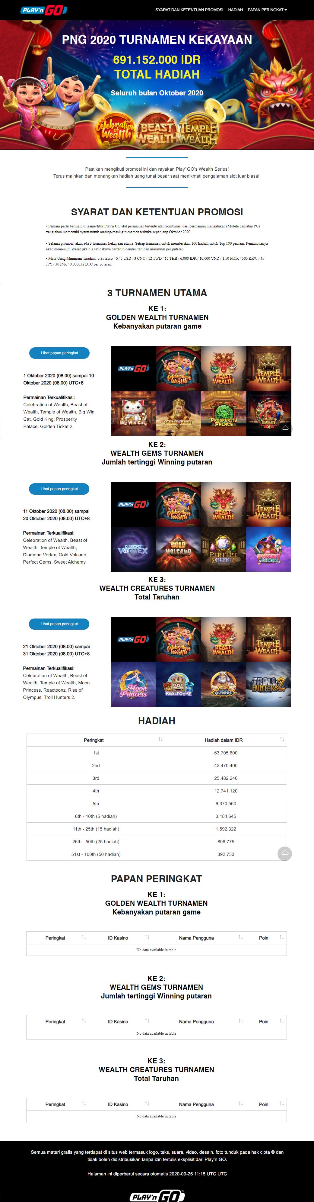 Event Slot Online Terbesar