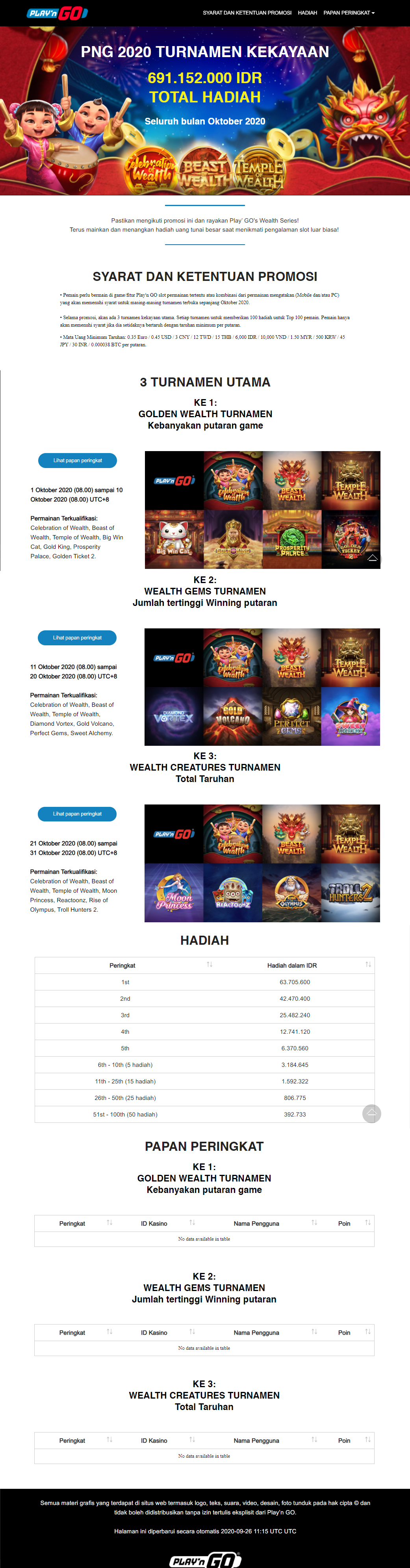 Event Slot Online