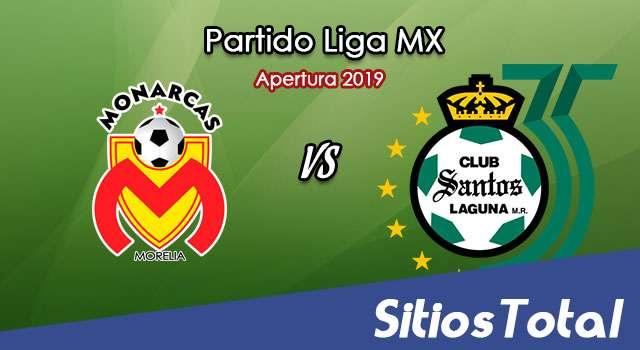 Monarcas Morelia vs Santos en Vivo – Liga MX – Viernes 25 de Octubre del 2019