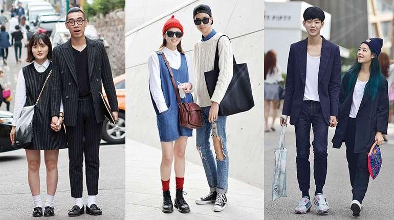 Korean Couple Wear Fashion Inspirations