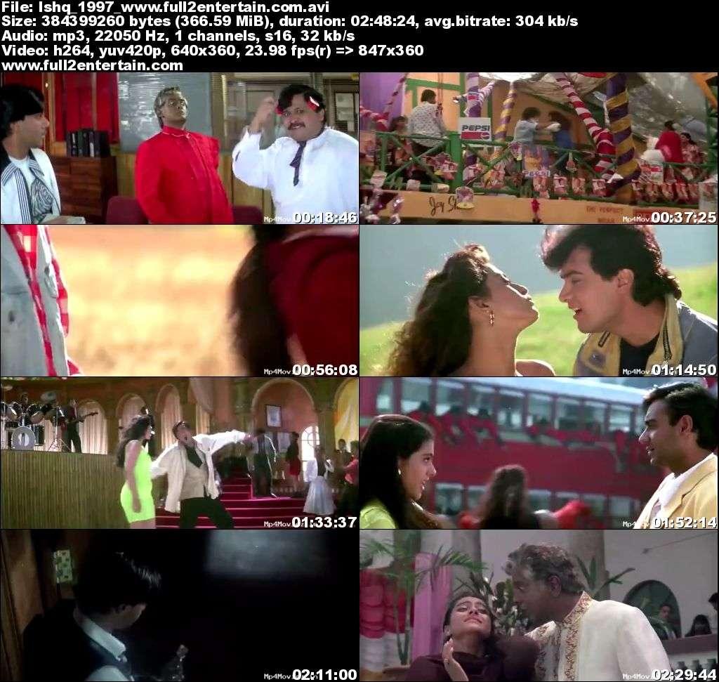 Ishq 1997 Full Movie Download Free in Dvdrip 480p