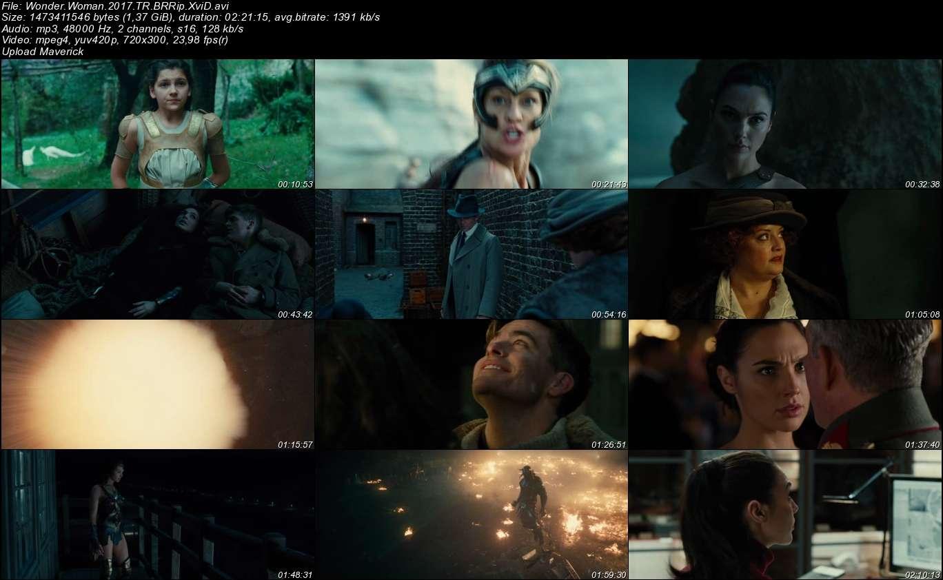 Wonder Woman - 2017 Türkçe Dublaj BRRip indir