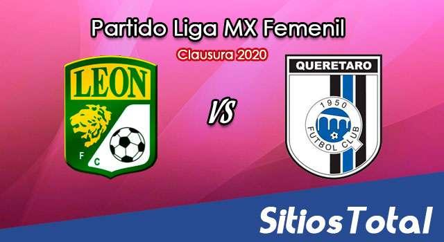 Ver León vs Querétaro en Vivo – Liga MX Femenil – Guardianes – Sábado 31 de Octubre del 2020