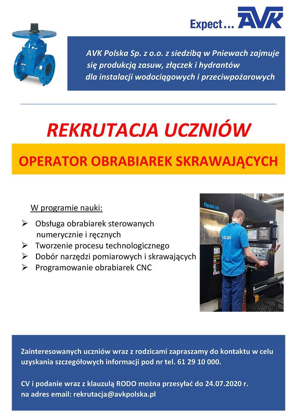 Rekrutacja uczniów – AVK