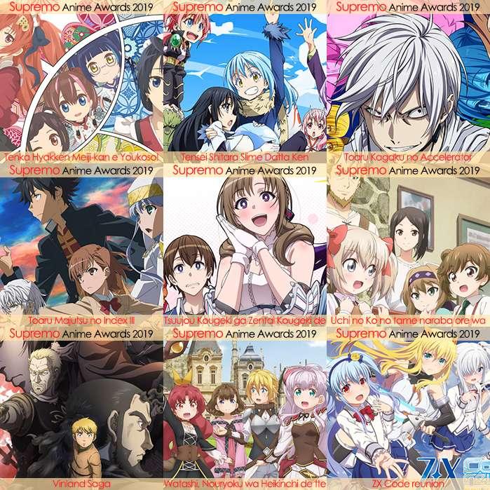 Eliminatorias Nominados a Mejor Anime de Aventura y Fantasía 2019