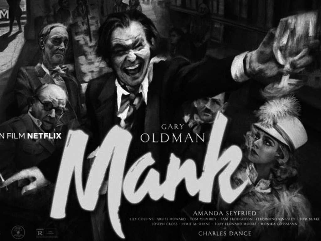 Μανκ (Mank) Quad Poster
