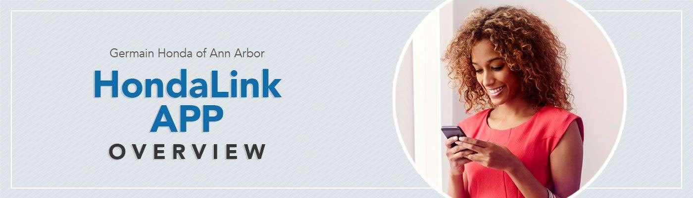 HondaLink App Overview