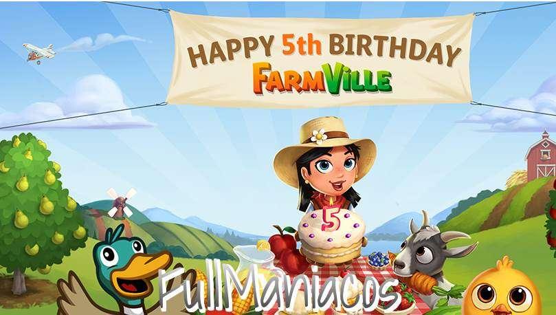 Farmville 2 Festeja su 5to Aniversario !!!!