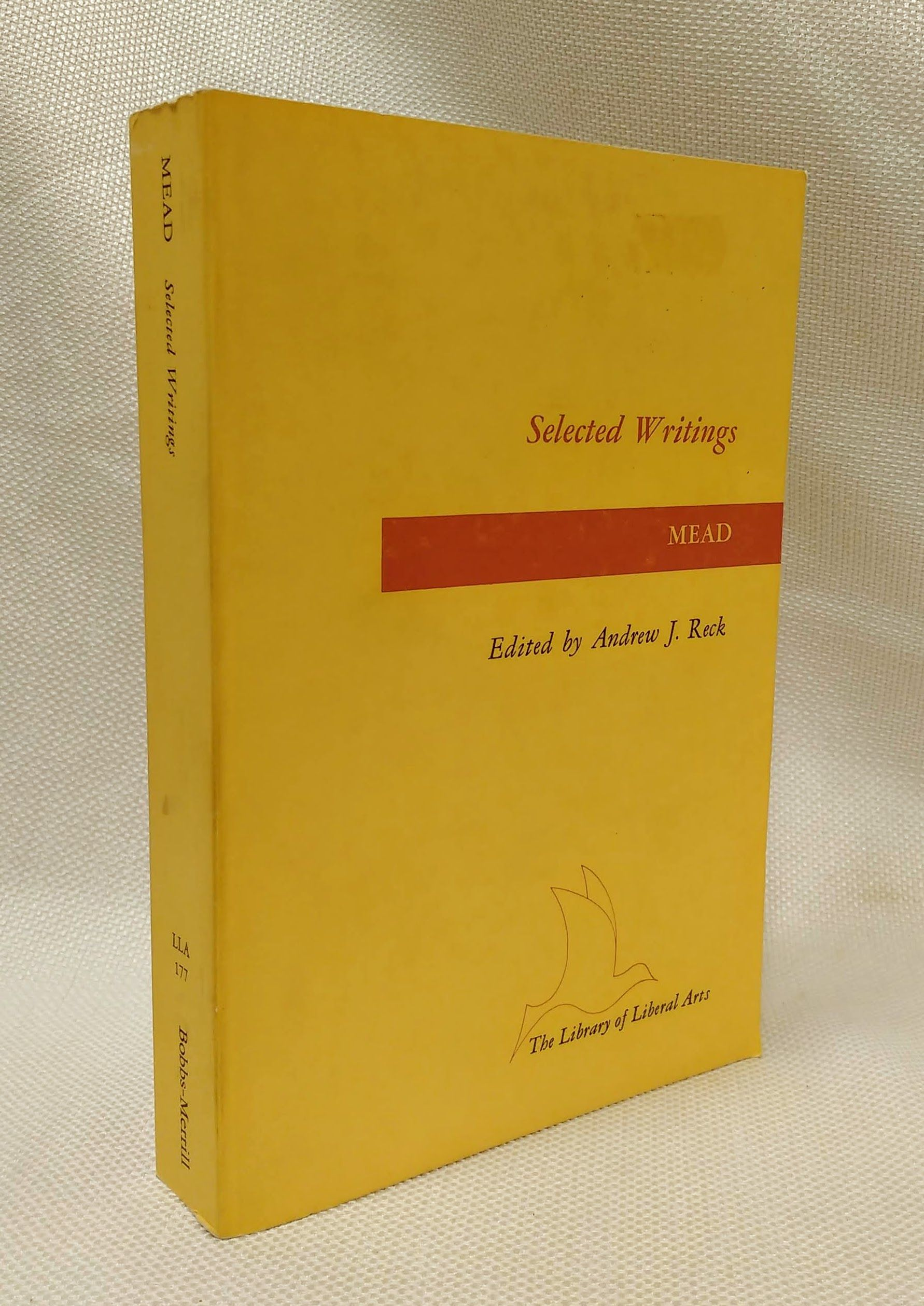 Selected writings (The Library of liberal arts), Mead, George Herbert