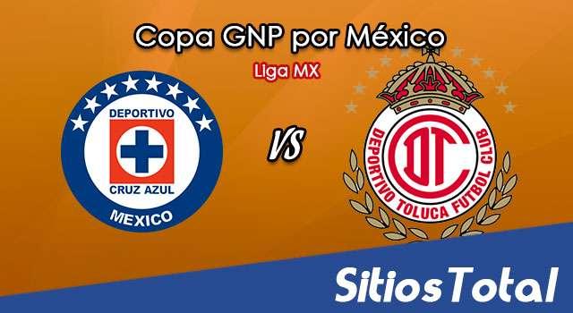 Cruz Azul vs Toluca en Vivo – Copa GNP por México – Liga MX – Miércoles 8 de Julio del 2020
