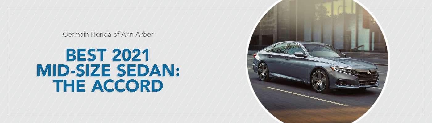 Best Midsize Sedan at Germain Honda of Ann Arbor