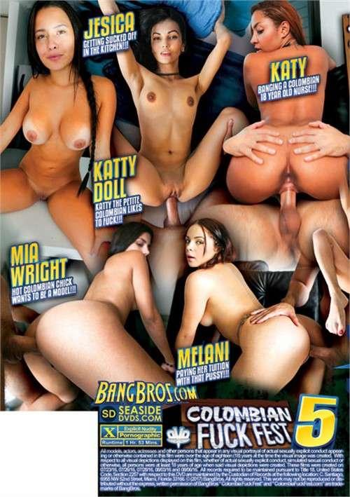 Колумбийский Блядский Фестиваль 5   Colombian Fuck Fest 5