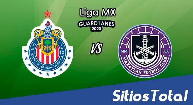 Chivas vs Mazatlán FC en Vivo – Liga MX – Guardianes 2020 – Sábado 26 de Septiembre del 2020
