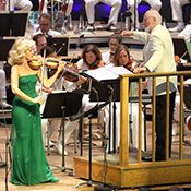 [John Williams and Anne-Sophie Mutter]