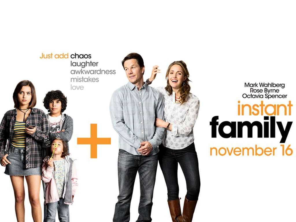 Στιγμιαία Οικογένεια (Instant Family) Quad Poster