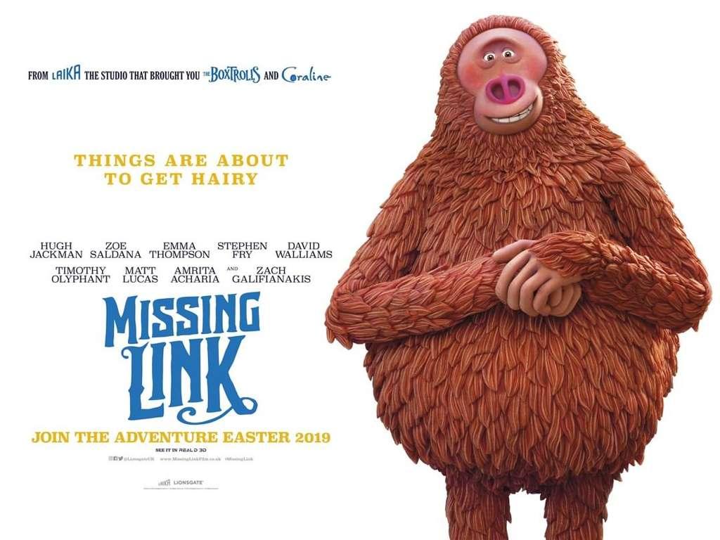 Ο Ευγενικός Κύριος Λινκ (Missing Link) Quad Poster Πόστερ