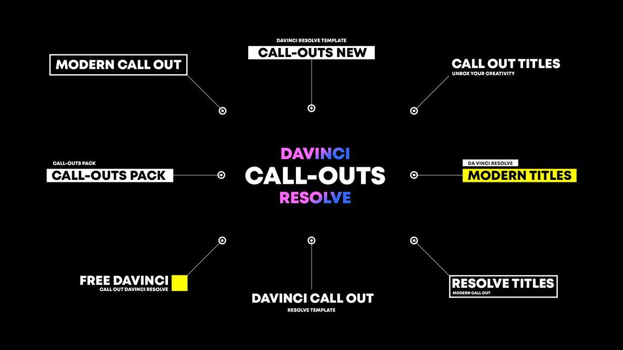 BOX | Transitions for Davinci Resolve - 100