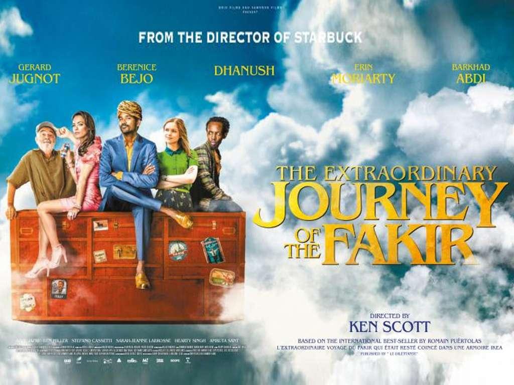 Το Απίθανο Ταξίδι ενός Φακίρη (The Extraordinary Journey of the Fakir) Quad Poster